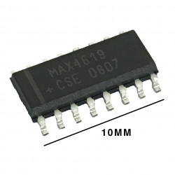 IC MAX-4619CSE ANALOG MULTIPLEXERS/SWITCHES SMD