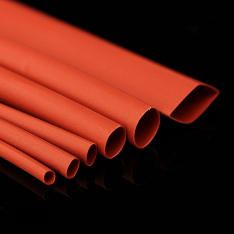 HEAT SHRINK 12.0MM, 2:1, RED