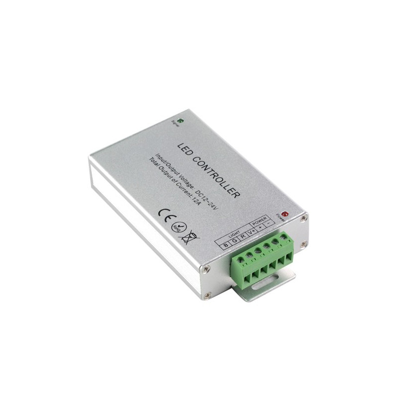 LED RGB CONTROLLER, 12-24V, 12A