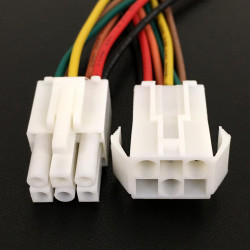 INTER CONNECTOR 6-PIN 4.5MM