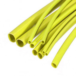 HEAT SHRINK 1.0MM, 2:1, YELLOW