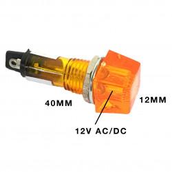 PILOT LAMP 12V N802P ORANGE