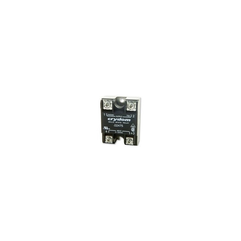 CRYDOM SOLID STATE RELAY D2475 32VDC 75A 240VAC