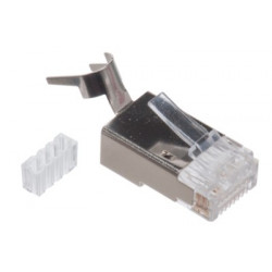RJ-45 CAT6 SHIELDED CRIMP CONNECTOR 2PCS/PKG