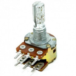 POTENTIOMETER 100K X2 (A) 16MM