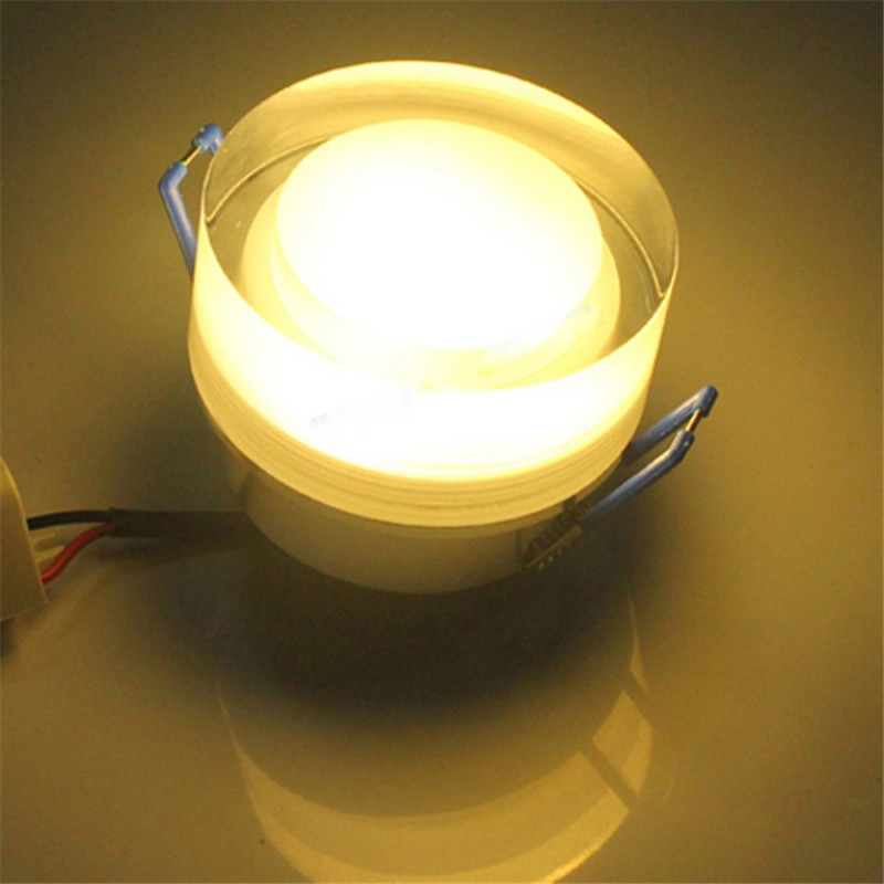 CEILING PUCK LIGHT 12V/24V 3W WARM WHITE