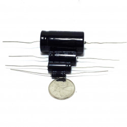 ELECTROLYTIC CAP 50V 10UF BI-POLAR 5PCS