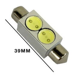 LED FESTOON REPLACEMENT 39MM WHITE 2W