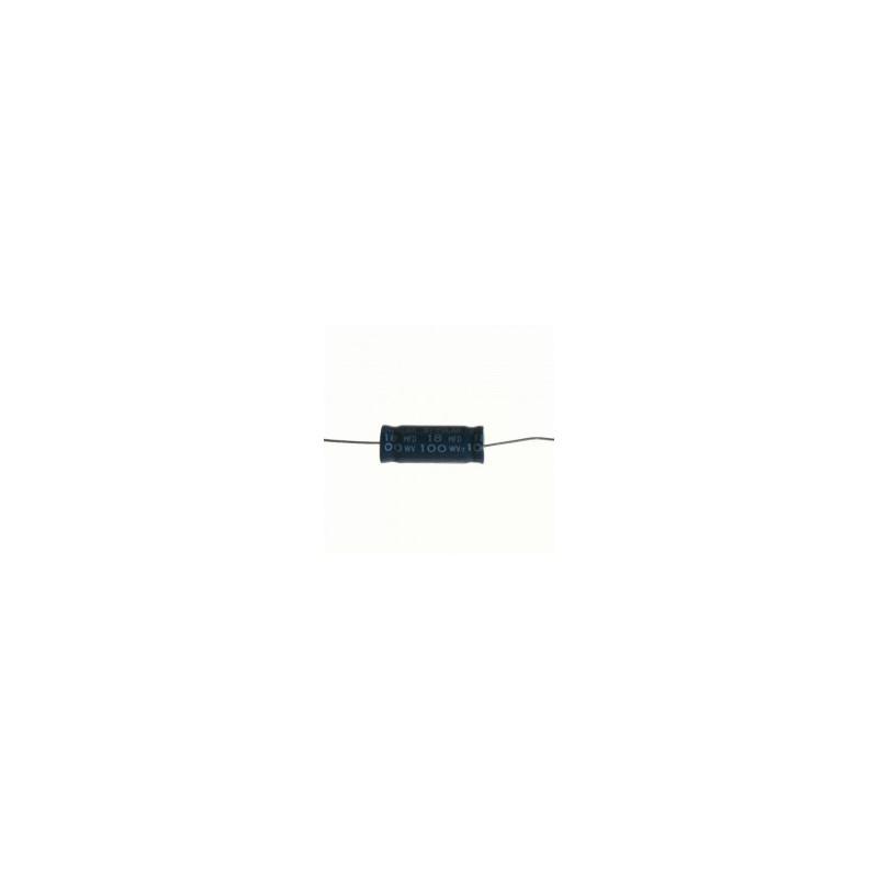 SOLEN CAP NP 100V 18UF, B05A100K186