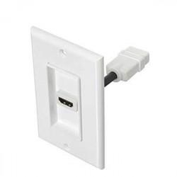 WALL PLATE HDMI SINGLE SLOT