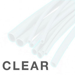 HEAT SHRINK 8.0MM, 2:1, CLEAR