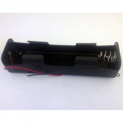 BATTERY HOLDER, Dx2, INLINE
