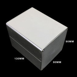 ENCLOSURE, INSTRUM CASE ALUM HF-A-283 90X90X130MM