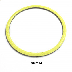 LED RING, COLD WHITE, 80MM 9-12V
