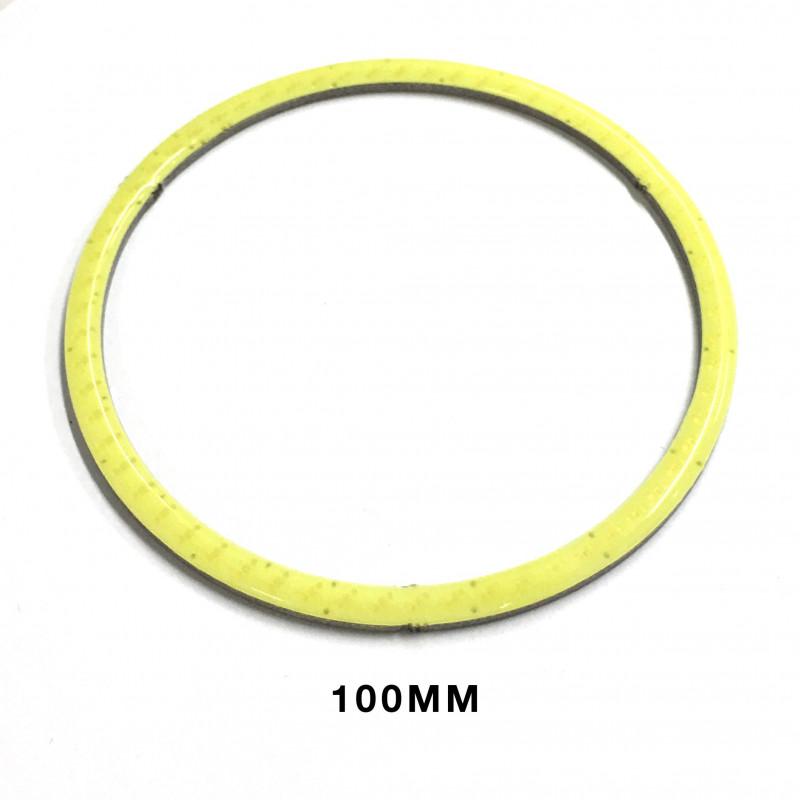 LED RING, COLD WHITE, 100MM 9-12V