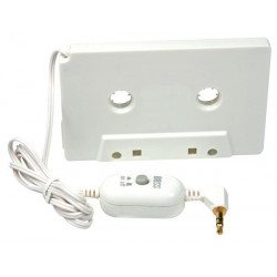AUDIO ADAPTER 3.5MM TO CASETTE