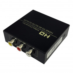 HDMI TO COMPOSITE CONVERTER BOX WITH PWR ADAPTER