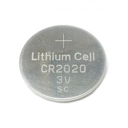 BATTERY, CR2020, LITHIUM