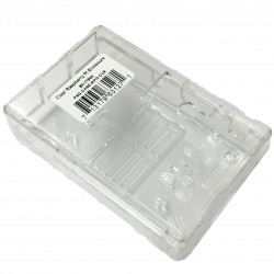 ENCLOSURE, RASPBERRY PI CASE, PLASTIC, CLEAR
