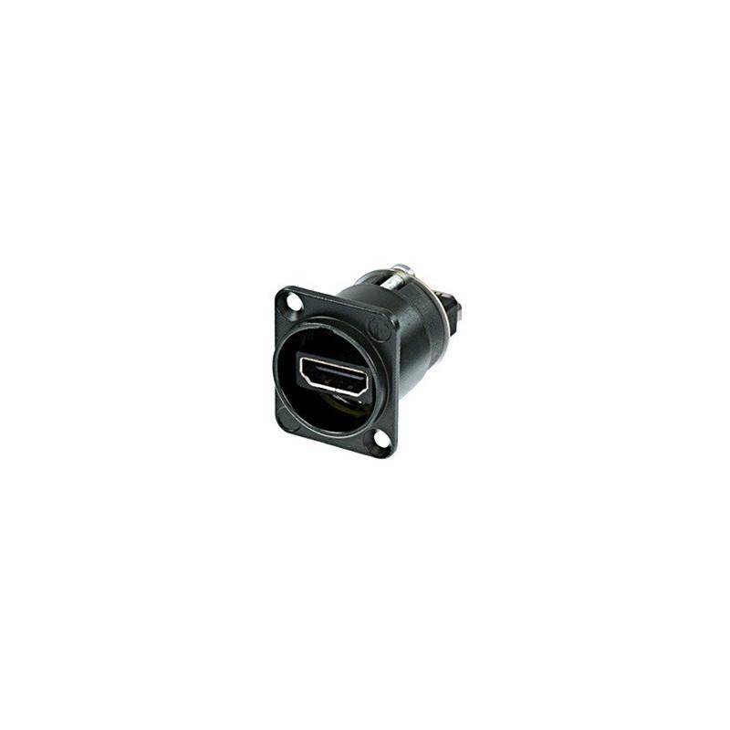 NEUTRIK HDMI IP65 PANEL MOUNT PASS THROUGH (NAHDMI-W-B)