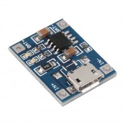 TP4056 CHARGER MODULE 1A 5V USB INPUT