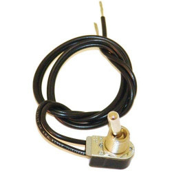 TOGGLE SWITCH SPST WITH WIRE 125V 6A