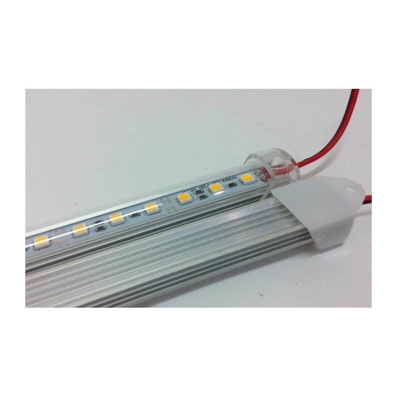 LED BAR, 5050, 12V, ALUMINUM WARM WHITE