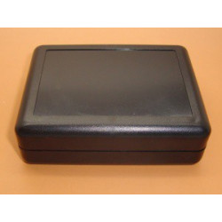 ENCLOSURE, PLASTIC BOX, 90X70X28MM, BLACK