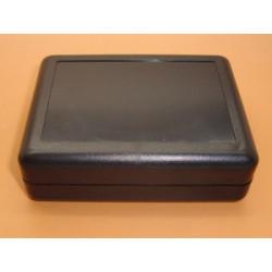 ENCLOSURE, PLASTIC BOX, 90X70X28MM, BLACK