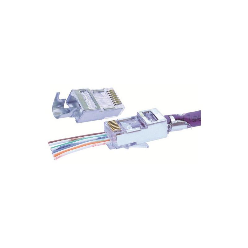 EZ RJ45 CAT5E CONNECTORS 50/BAG