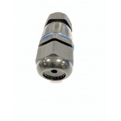INLINE 1 TO 1 WATERPROOF CABLE GLAND M25X1.5