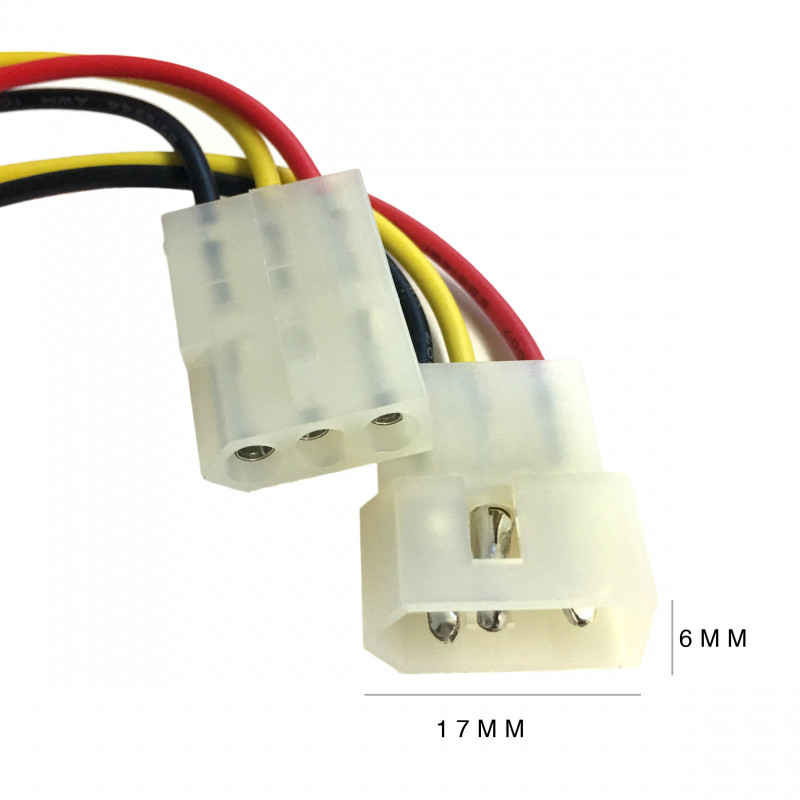 MOLEX CONNECTORS W/WIRES 3P SET