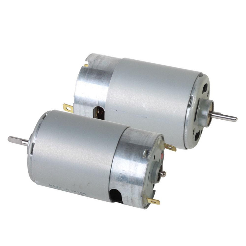 12VDC HIGH POWER MABUCHI MOTOR 5500RPM RS-555PH-23300A