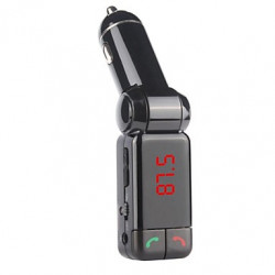 BLUETOOTH FM TRANSMITTER / CHARGER W/ USB