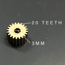 METAL GEAR, D3MM, 20 TEETH