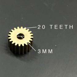 METAL GEAR, D3MM, 20 TEETH