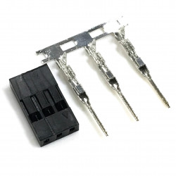 DUPONT BREADBOARD JUMPER TERMINAL 3P (M) 2PC/SET