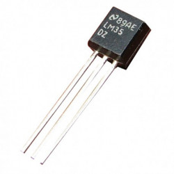 IC, LM35DZ, TEMPERATURE SENSOR TO-92