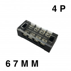 TERMINAL STRIP 4 POSITION 600V25A TB-2504