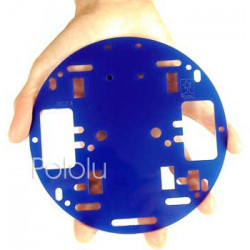 POLOLU ROBOT CHASSIS RRC01A SOLID BLUE