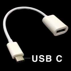 USB TYPE C TO USB 3.0 FEMALE (OTG) CABLE