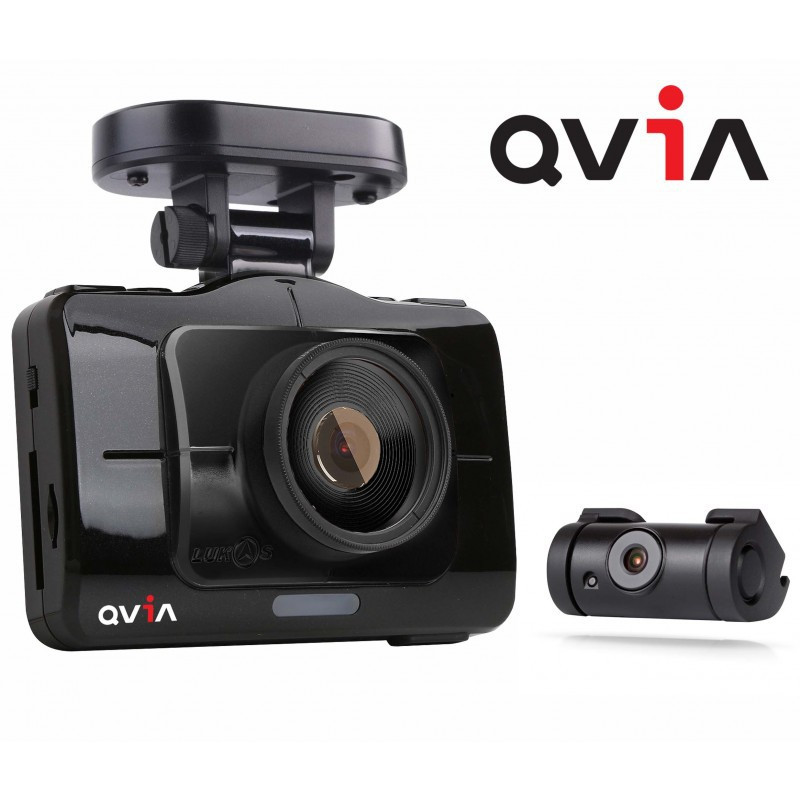 DASH CAMERA QVIA R935 FULL HD 24GB FRONT & READ