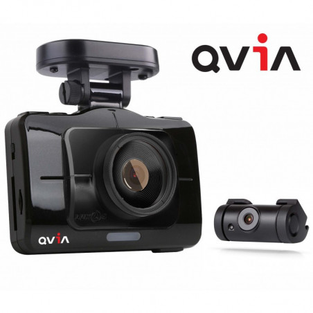 DASH CAMERA QVIA R935 FULL HD 24GB FRONT & REAR