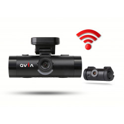 DASH CAMERA QVIA AR790 FULL HD 16GB FRONT & REAR