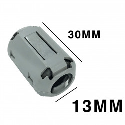 EMI FILTER CLIP-ON 13MM INNER DIAMETER UF1330