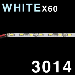 LED SOLID STRIP 3014 60-LED COLD WHITE, 6000K