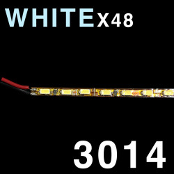 LED SOLID STRIP 3010-48 COLD WHITE 12INCHES