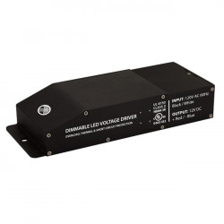 VOLTAGE DIMMABLE CLASS 2 LED DRIVER, 12VDC, 60W