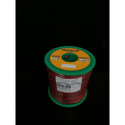 2 CORE WIRE 26AWG R/B - 100FT/ROLL