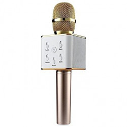 Q7 PORTABLE WIRELESS KARAOKE MICROPHONE WITH HIFI SPEAKER